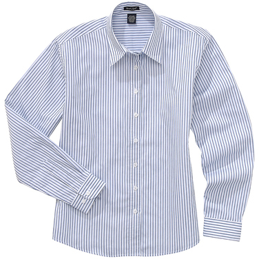 River's End Ladies' Easy-Care Striped Long Sleeve Shirt