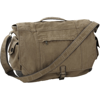DRI-Duck Canvas Messenger Bag