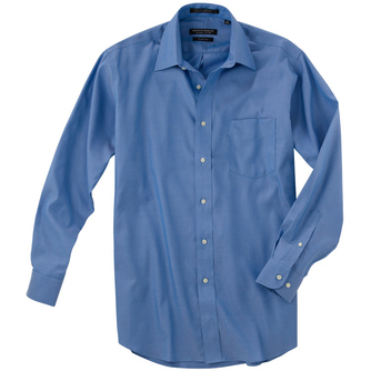 "Forsyth Men's Point Collar Freedom Long Sleeve Shirt (35"" Sleeve)"