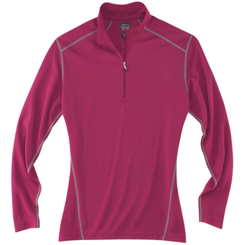 River's End Ladies' Contrast Stitch Half-Zip Pullover