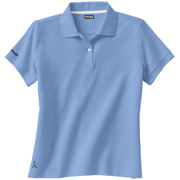 Ping Ladies' Eagle 2-Button Short Sleeve Polo