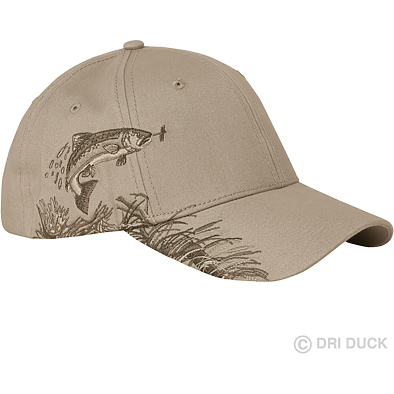 DRI-Duck Wildlife Series Trout Cap