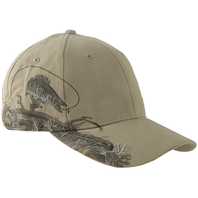DRI-Duck Wildlife Series Walleye Cap