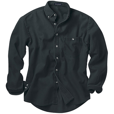 River's End Men's Denim & Twill Long Sleeve Shirt