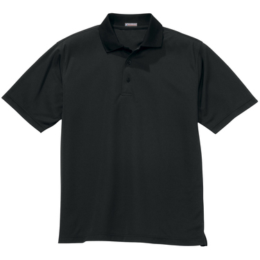 River's End Men's UPF 30+ Solid Pique Short Sleeve Polo