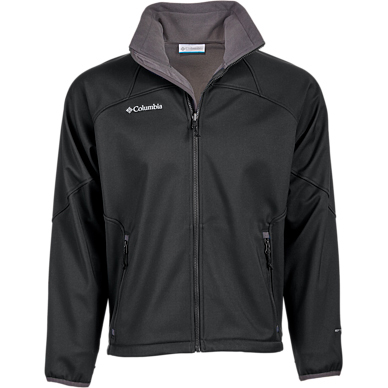 Columbia Men's Polyester Shelby Full-Zip Softshell