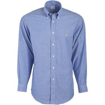 Brooks Brothers Men's 346 Oxford Long Sleeve Sport Shirt