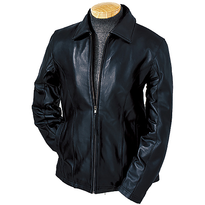 Burk's Bay Ladies' Lambskin Full-Zip Jacket