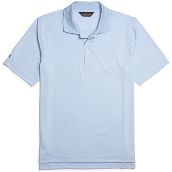 Brooks Brothers Men's Solid Jersey Short Sleeve Polo