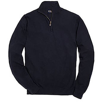 Brooks Brothers Men's Cashmere Half-Zip Pullover Sweater