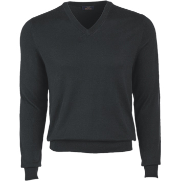 Brooks Brothers Men's 346 Cotton V-Neck Long Sleeve Sweater