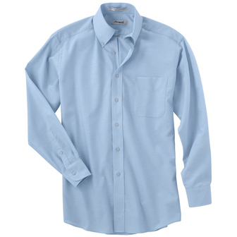Forsyth Men's Oxford Wrinkle Resistant Long Sleeve Sport Shirt