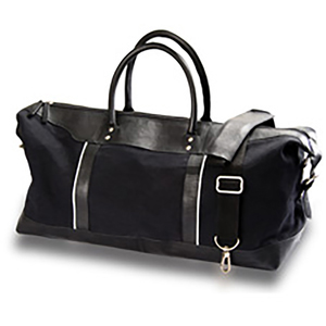 Burk's Bay Canvas and Leather Travel Duffel Bag