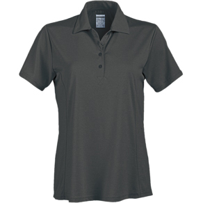 Page & Tuttle Ladies' Heather Princess Seam Short Sleeve Polo