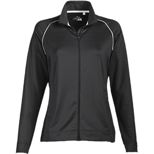 Page & Tuttle Ladies' Piped Full-Zip Second Layer