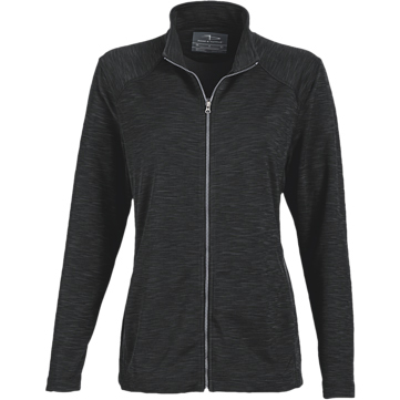 Page & Tuttle Ladies' Melange Full Zip Jacket