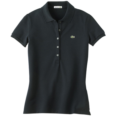 Lacoste Ladies' Cotton/Elastane Pique Short Sleeve Polo
