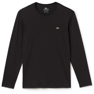 Lacoste Men's Pima Jersey Long Sleeve Crewneck Tee
